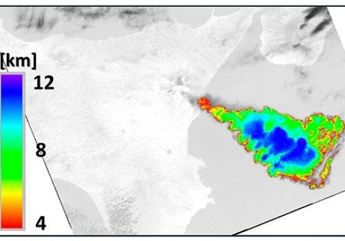 Etna: anatomia dell'episodio parossistico del 12 marzo 2021