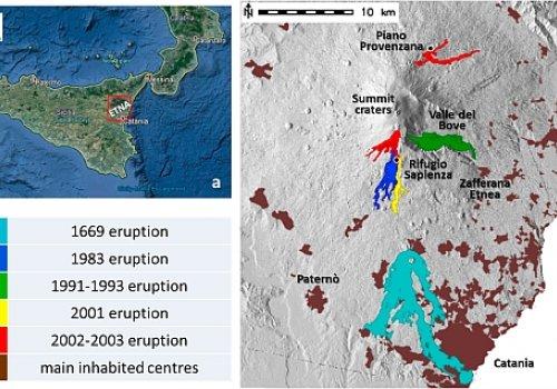 Mitigazione del rischio di invasione da colate di lava tramite PSO