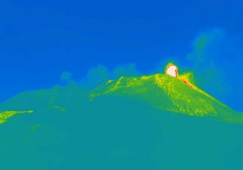 Etna, 7 marzo 2021. All'alba il decimo parossismo
